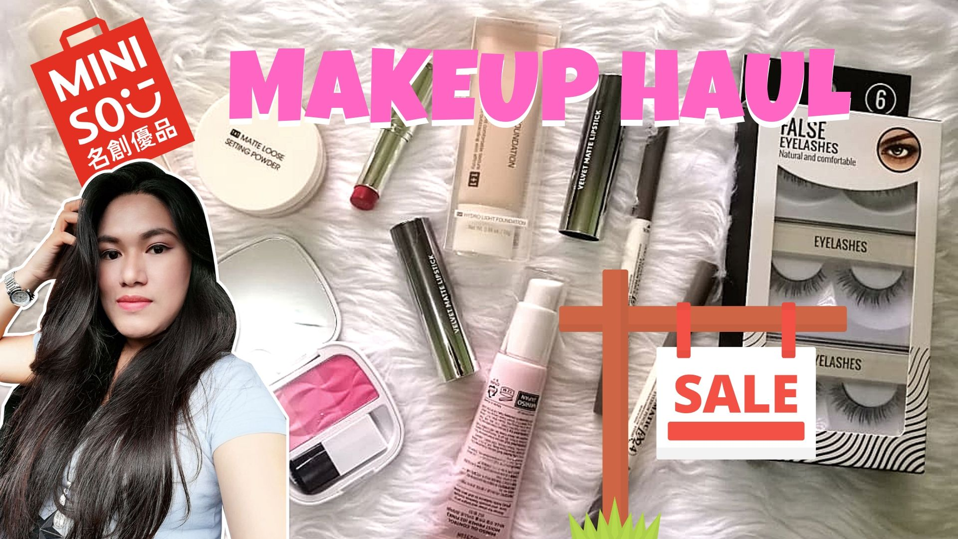 Makeup Haul Miniso They Re On